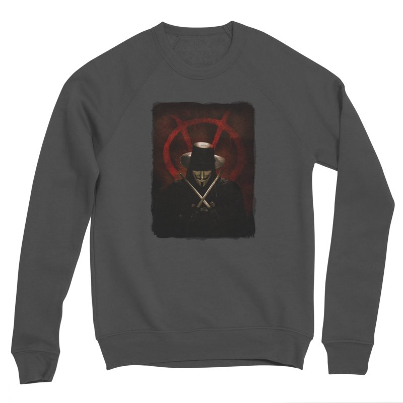 remember, remember, the fifth of november Women's Sponge Fleece Sweatshirt by the twisted world of godriguezart