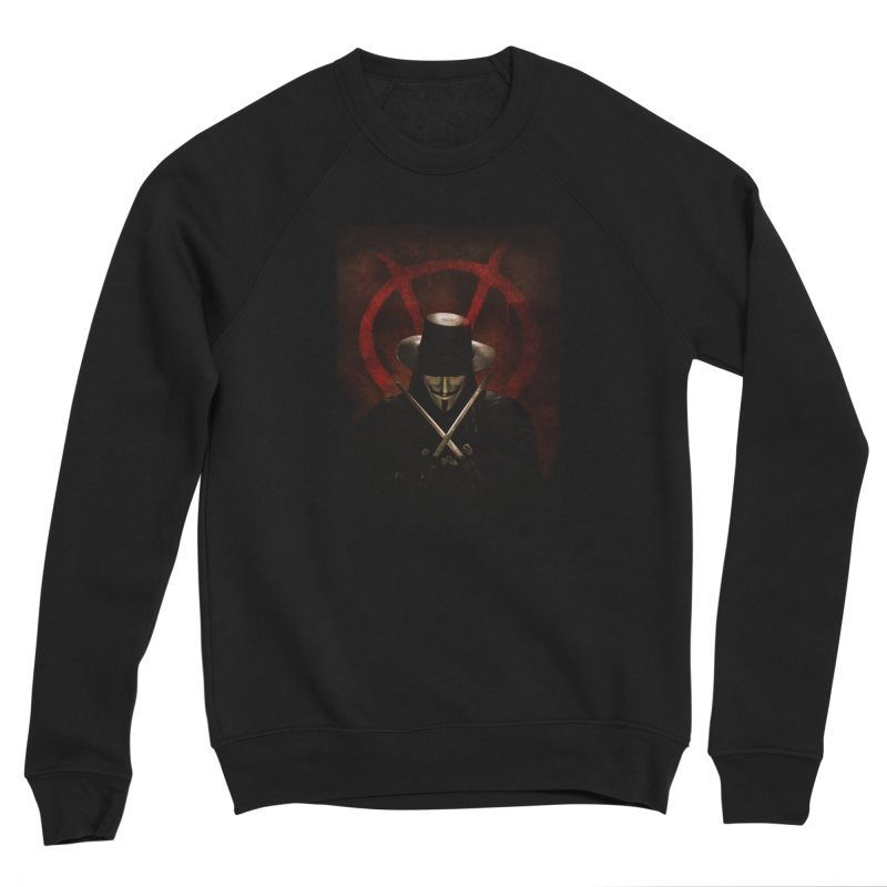 remember, remember, the fifth of november Men's Sponge Fleece Sweatshirt by the twisted world of godriguezart
