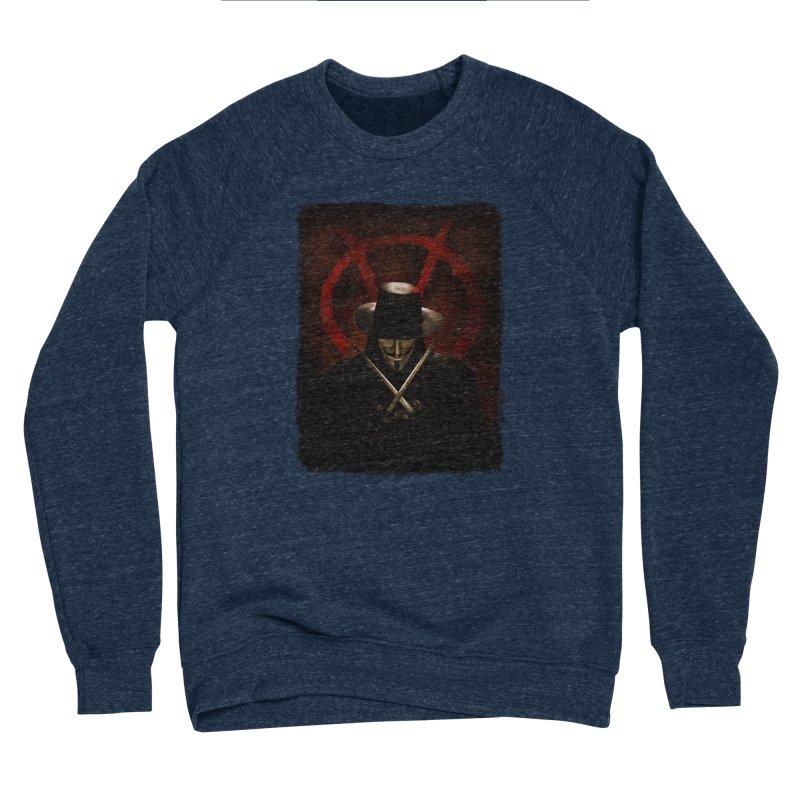 remember, remember, the fifth of november Women's Sponge Fleece Sweatshirt by the twisted world of godriguezart