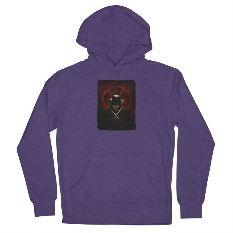 remember, remember, the fifth of november Men's French Terry Pullover Hoody by the twisted world of godriguezart
