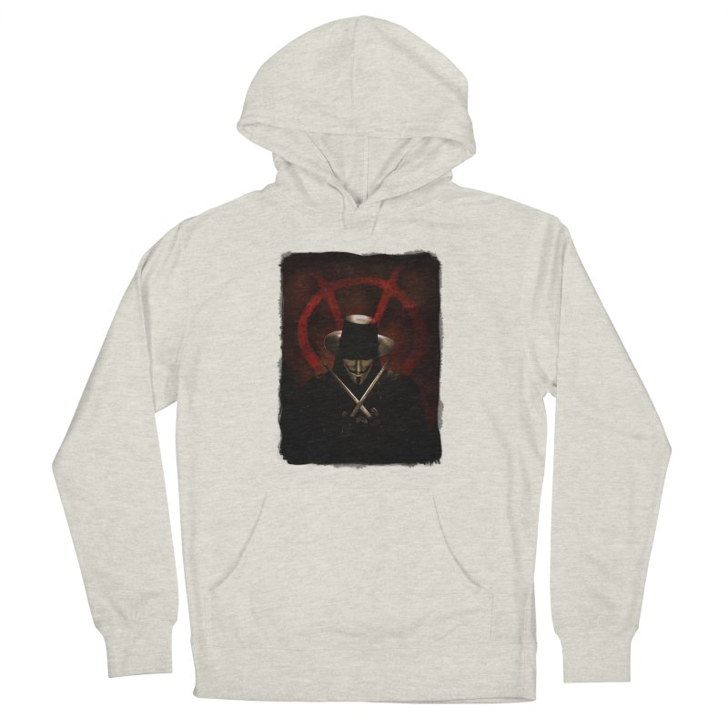 remember, remember, the fifth of november Women's French Terry Pullover Hoody by the twisted world of godriguezart