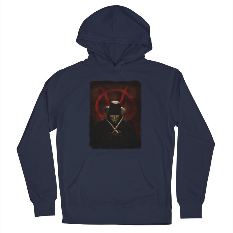 remember, remember, the fifth of november Men's Pullover Hoody by the twisted world of godriguezart