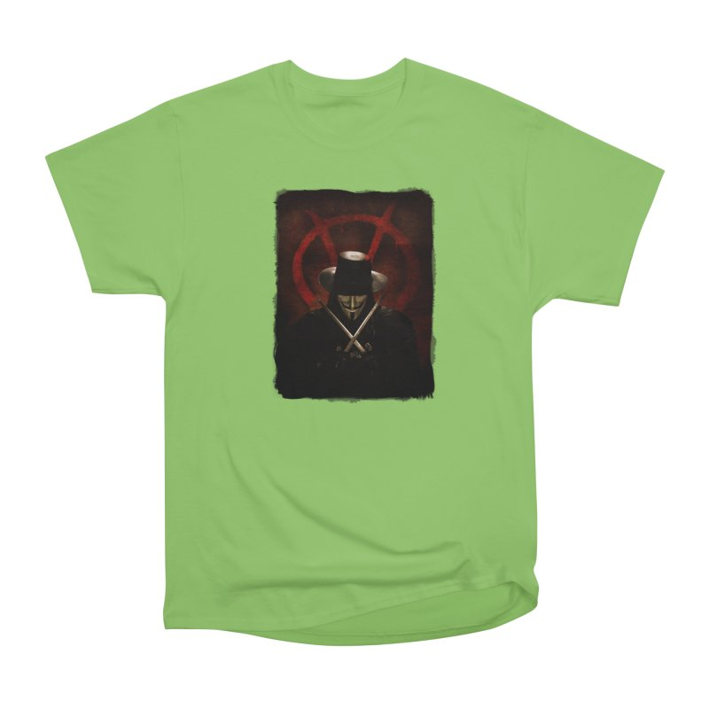 remember, remember, the fifth of november Women's Heavyweight Unisex T-Shirt by the twisted world of godriguezart