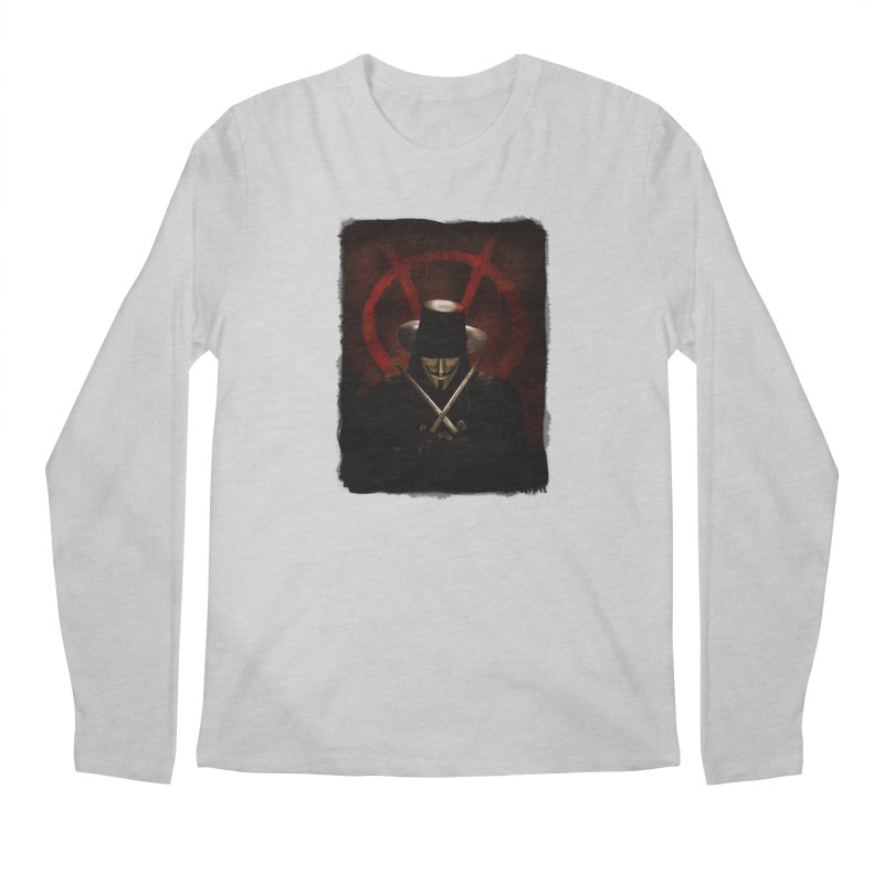 remember, remember, the fifth of november Men's Longsleeve T-Shirt by the twisted world of godriguezart