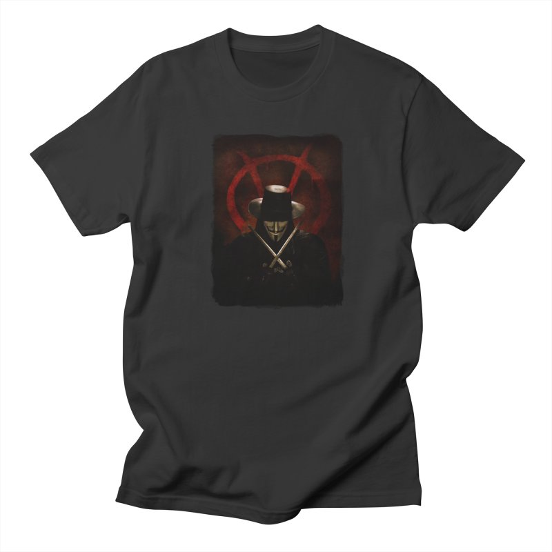 remember, remember, the fifth of november Women's Regular Unisex T-Shirt by the twisted world of godriguezart
