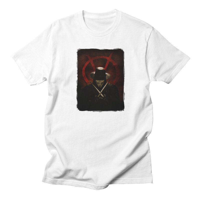remember, remember, the fifth of november Men's Regular T-Shirt by the twisted world of godriguezart