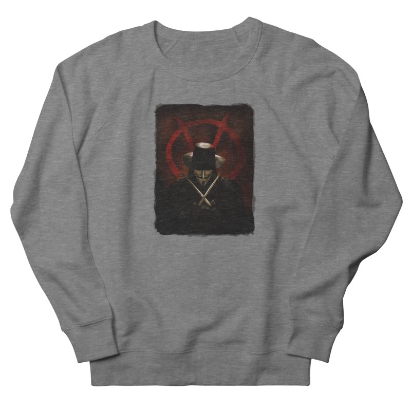remember, remember, the fifth of november Women's French Terry Sweatshirt by the twisted world of godriguezart