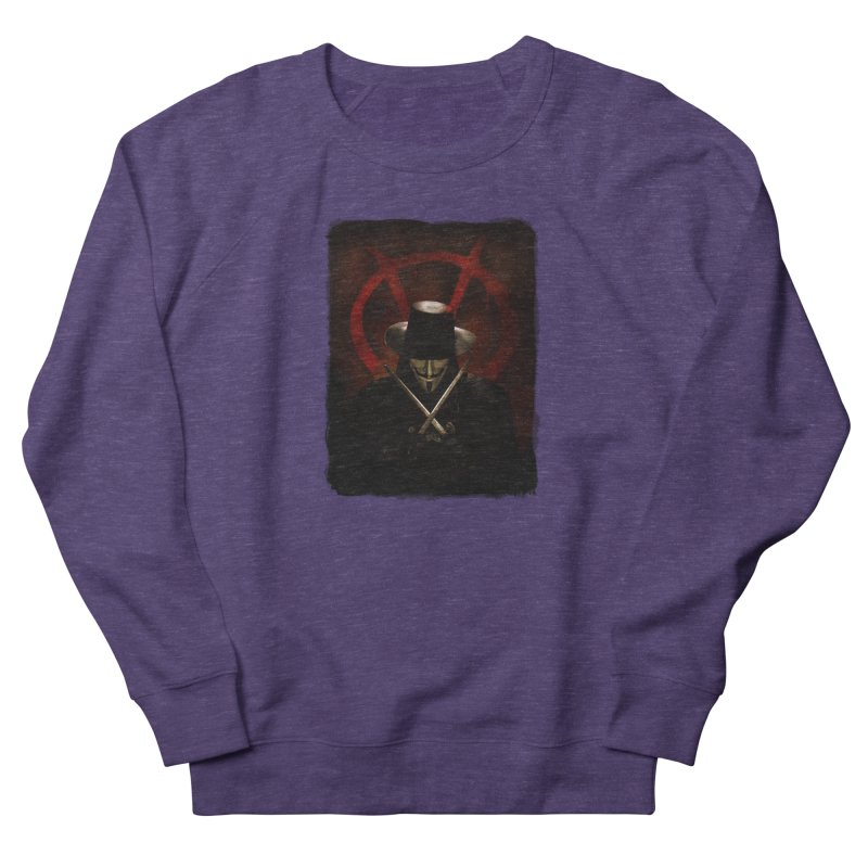 remember, remember, the fifth of november Men's French Terry Sweatshirt by the twisted world of godriguezart