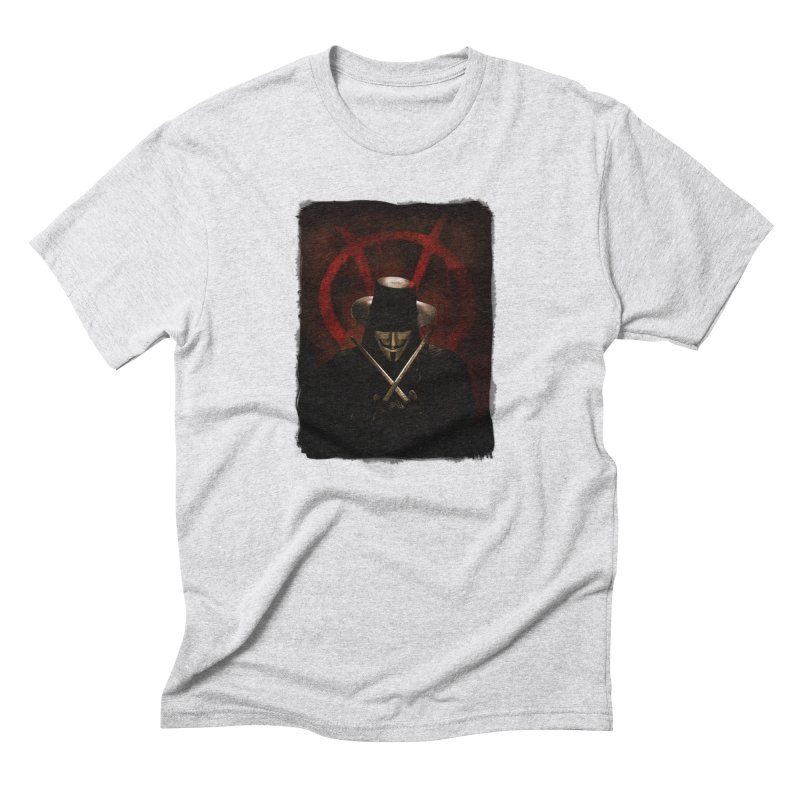 remember, remember, the fifth of november Men's Triblend T-Shirt by the twisted world of godriguezart