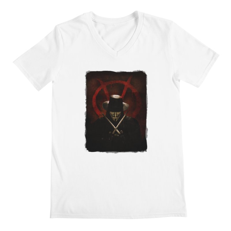 remember, remember, the fifth of november Men's V-Neck by the twisted world of godriguezart