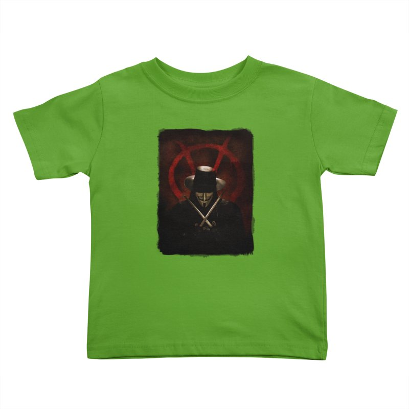 remember, remember, the fifth of november Kids Toddler T-Shirt by the twisted world of godriguezart