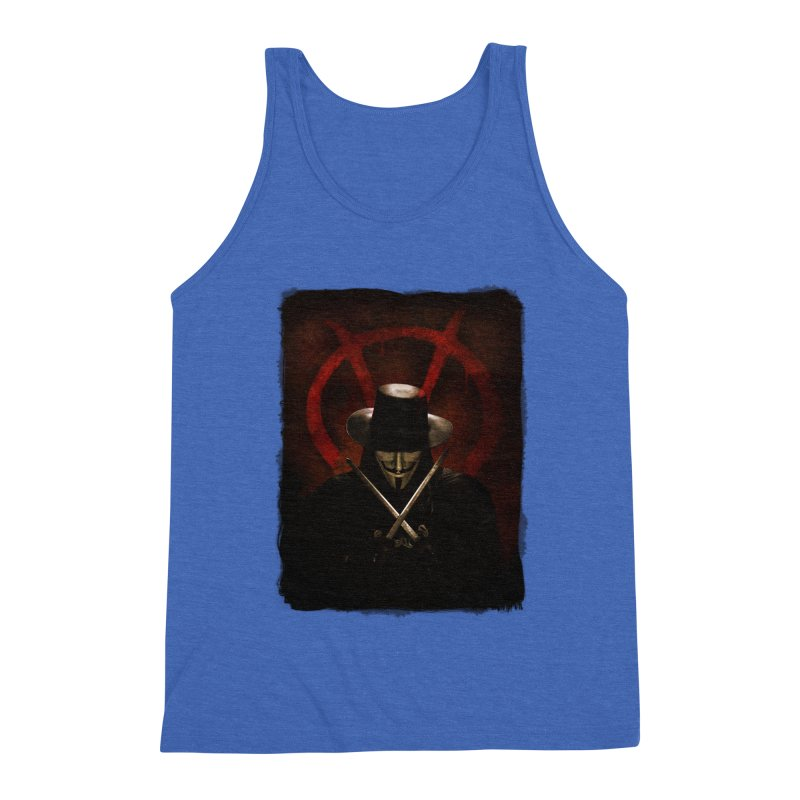 remember, remember, the fifth of november Men's Triblend Tank by the twisted world of godriguezart
