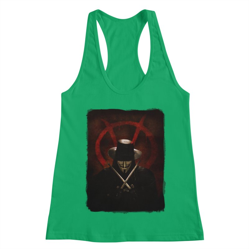 remember, remember, the fifth of november Women's Tank by the twisted world of godriguezart