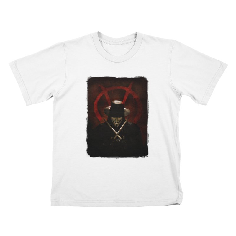 remember, remember, the fifth of november Kids T-Shirt by the twisted world of godriguezart