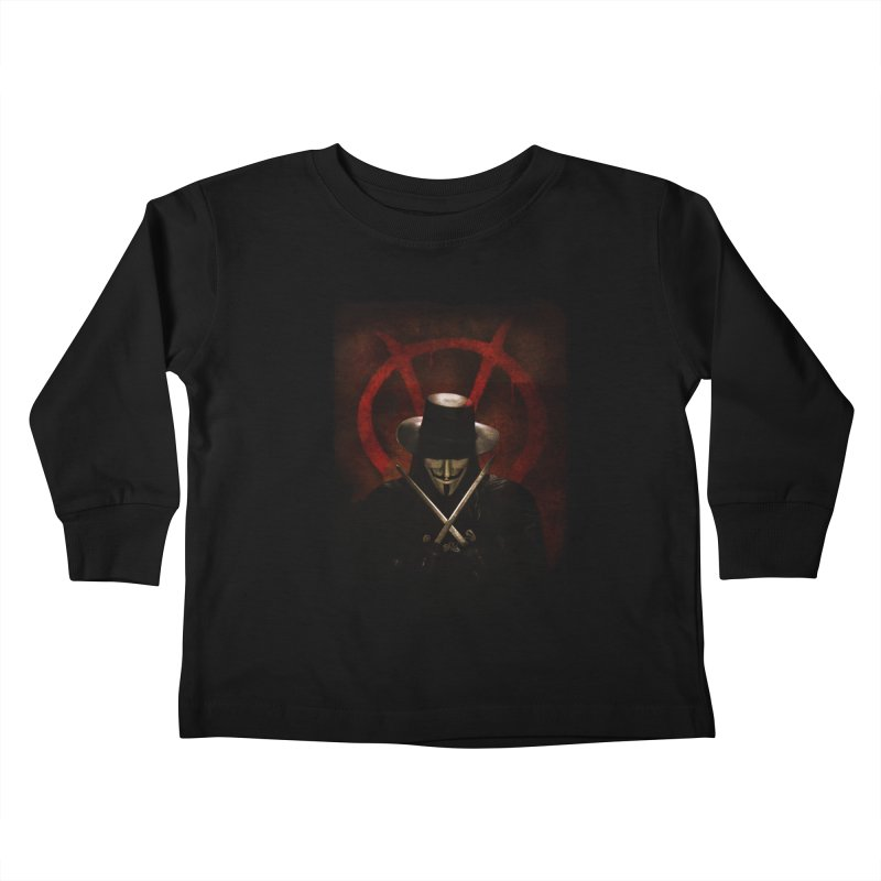 remember, remember, the fifth of november Kids Toddler Longsleeve T-Shirt by the twisted world of godriguezart