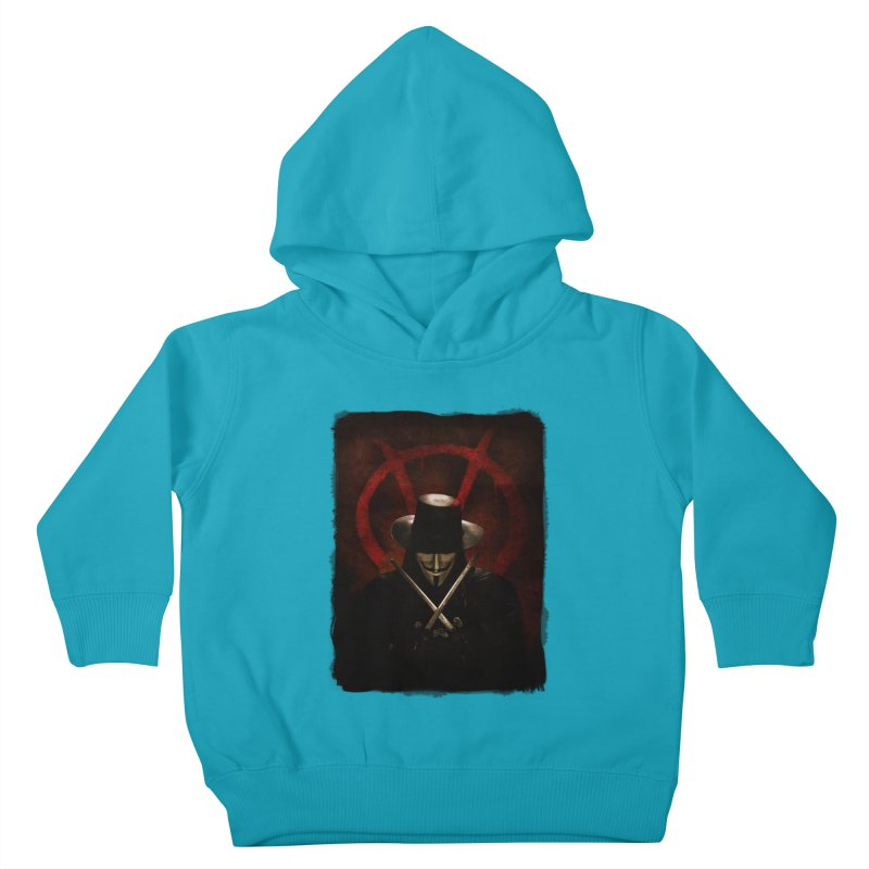 remember, remember, the fifth of november Kids Toddler Pullover Hoody by the twisted world of godriguezart