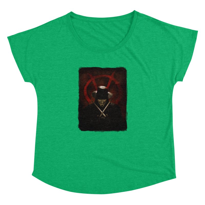 remember, remember, the fifth of november Women's Dolman Scoop Neck by the twisted world of godriguezart