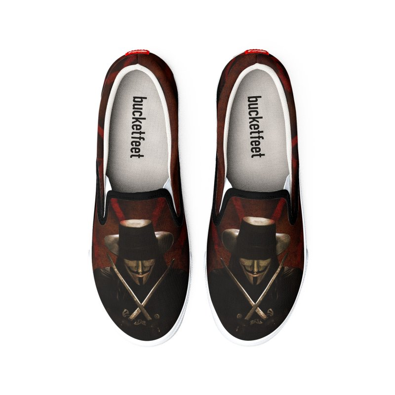 remember, remember, the fifth of november Men's Shoes by the twisted world of godriguezart
