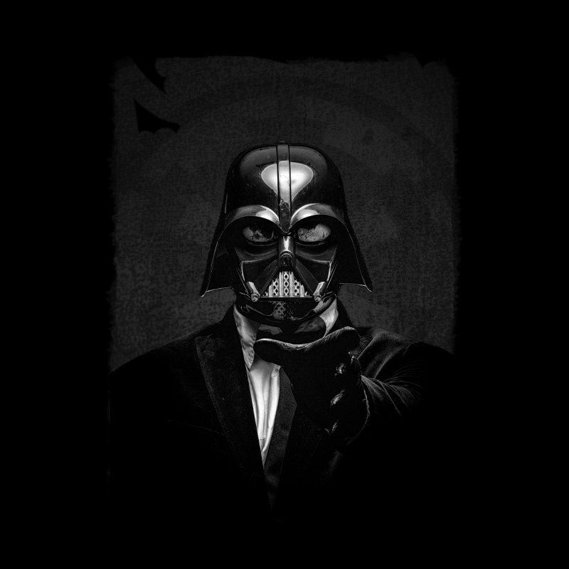 the power of the dark side Kids T-Shirt by the twisted world of godriguezart