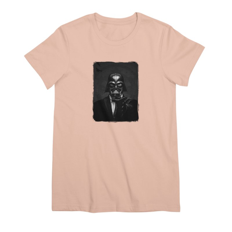 the power of the dark side Women's Premium T-Shirt by the twisted world of godriguezart
