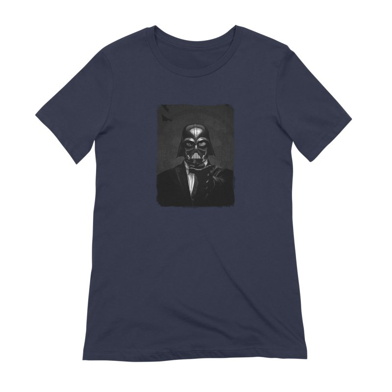 the power of the dark side Women's Extra Soft T-Shirt by the twisted world of godriguezart