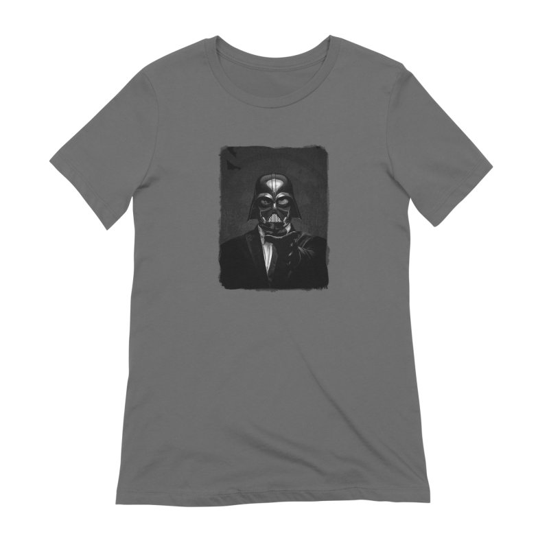 the power of the dark side Women's T-Shirt by the twisted world of godriguezart