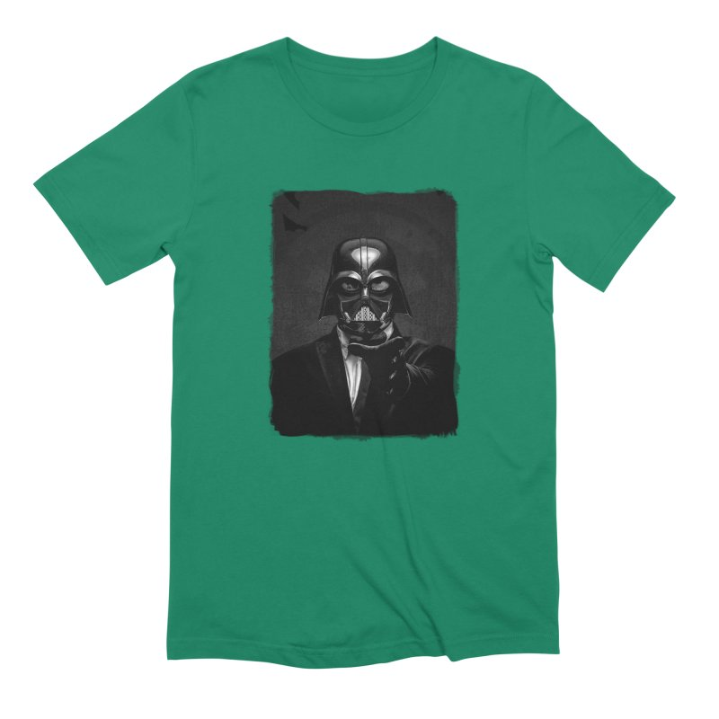 the power of the dark side Men's Extra Soft T-Shirt by the twisted world of godriguezart