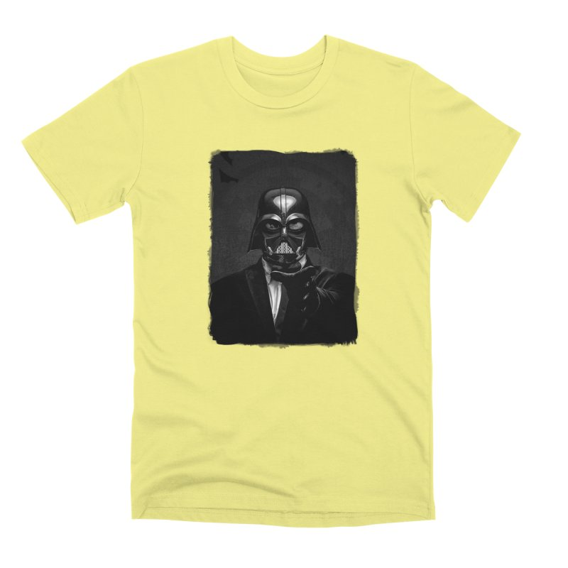 the power of the dark side Men's Premium T-Shirt by the twisted world of godriguezart