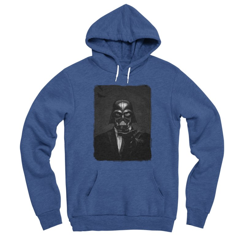 the power of the dark side Men's Sponge Fleece Pullover Hoody by the twisted world of godriguezart