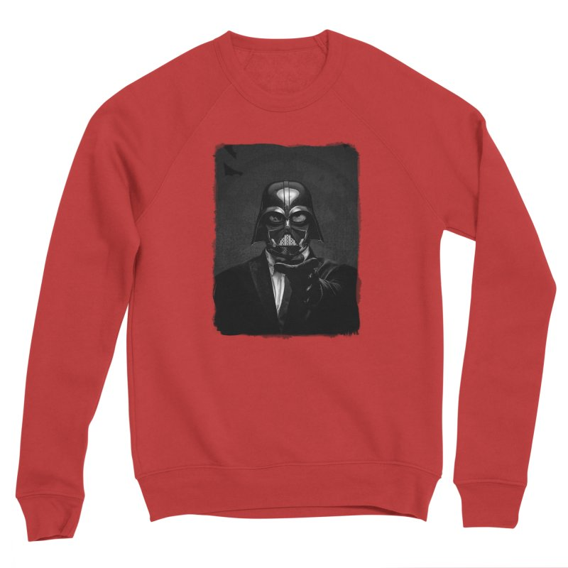 the power of the dark side Men's Sponge Fleece Sweatshirt by the twisted world of godriguezart