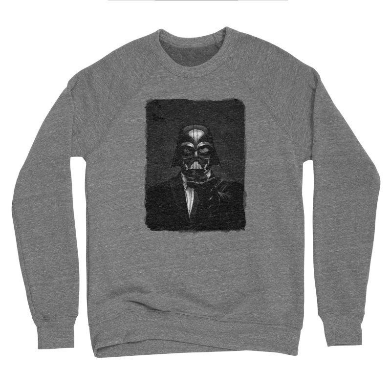 the power of the dark side Men's Sponge Fleece Sweatshirt by the twisted world of godriguezart
