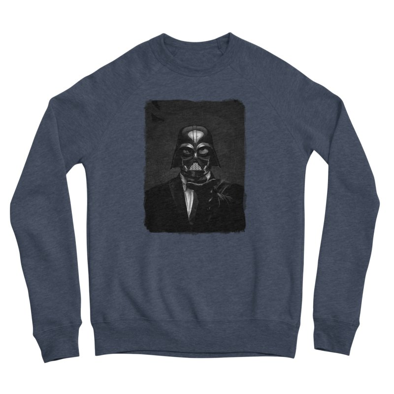 the power of the dark side Women's Sponge Fleece Sweatshirt by the twisted world of godriguezart