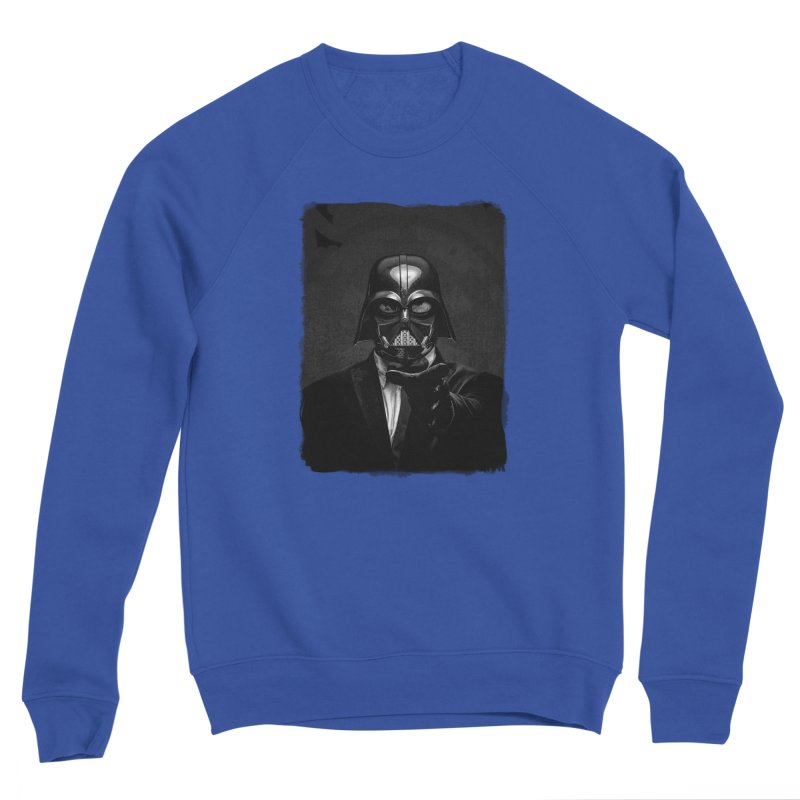 the power of the dark side Men's Sweatshirt by the twisted world of godriguezart