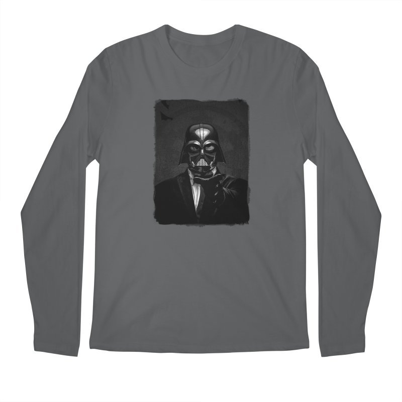 the power of the dark side Men's Longsleeve T-Shirt by the twisted world of godriguezart
