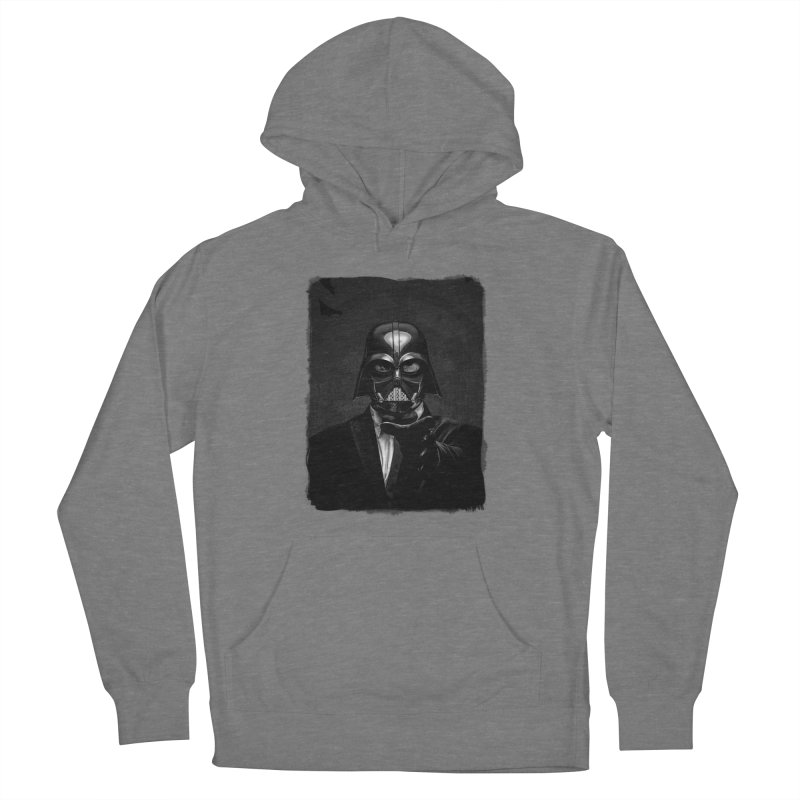 the power of the dark side Women's Pullover Hoody by the twisted world of godriguezart
