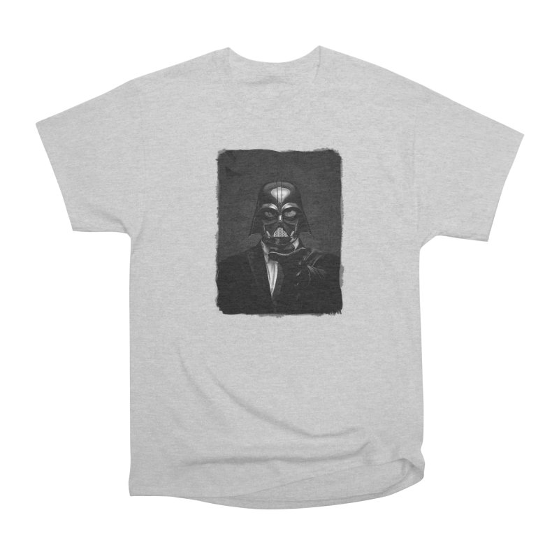 the power of the dark side Men's Heavyweight T-Shirt by the twisted world of godriguezart