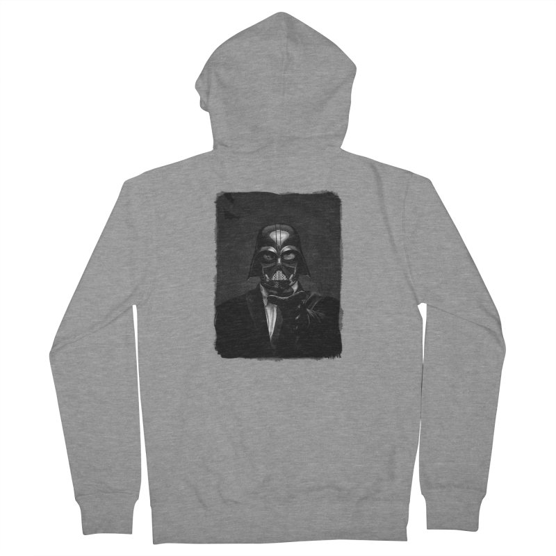 the power of the dark side Men's French Terry Zip-Up Hoody by the twisted world of godriguezart