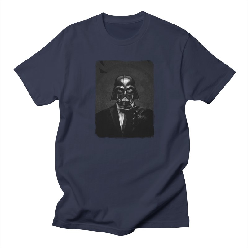 the power of the dark side Men's T-Shirt by the twisted world of godriguezart
