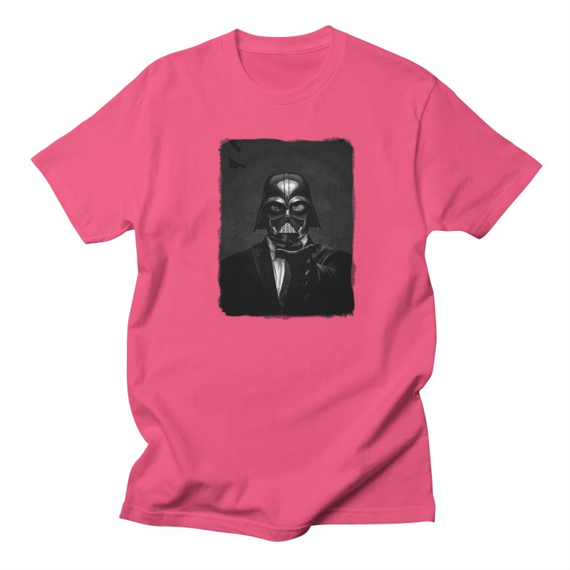 the power of the dark side Women's Regular Unisex T-Shirt by the twisted world of godriguezart