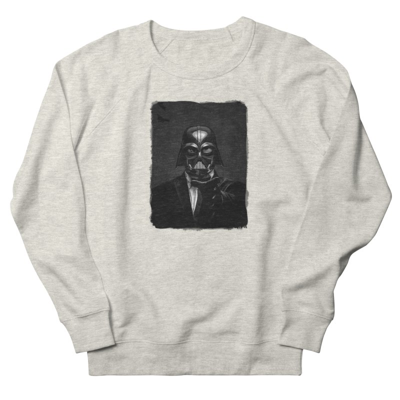 the power of the dark side Women's French Terry Sweatshirt by the twisted world of godriguezart