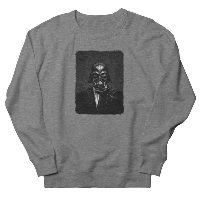 the power of the dark side Men's French Terry Sweatshirt by the twisted world of godriguezart