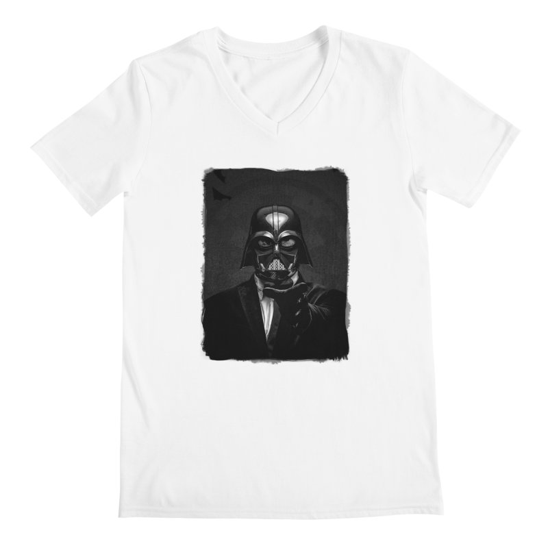 the power of the dark side Men's V-Neck by the twisted world of godriguezart