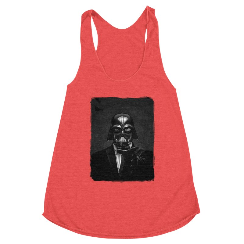the power of the dark side Women's Tank by the twisted world of godriguezart