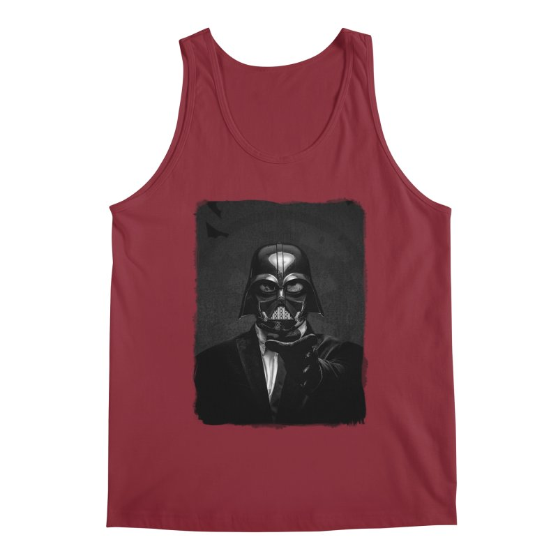 the power of the dark side Men's Tank by the twisted world of godriguezart