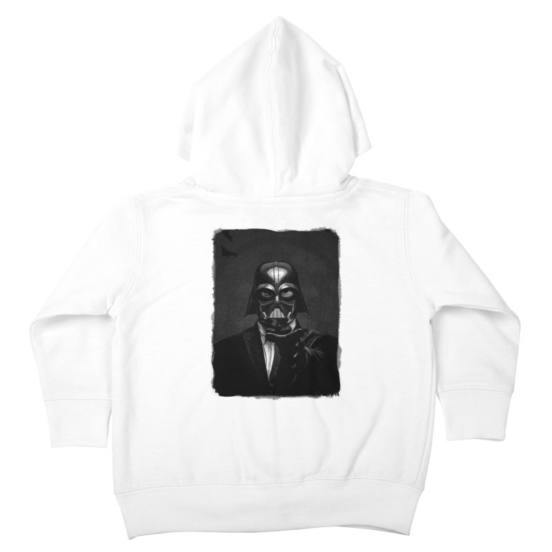 the power of the dark side Kids Toddler Zip-Up Hoody by the twisted world of godriguezart