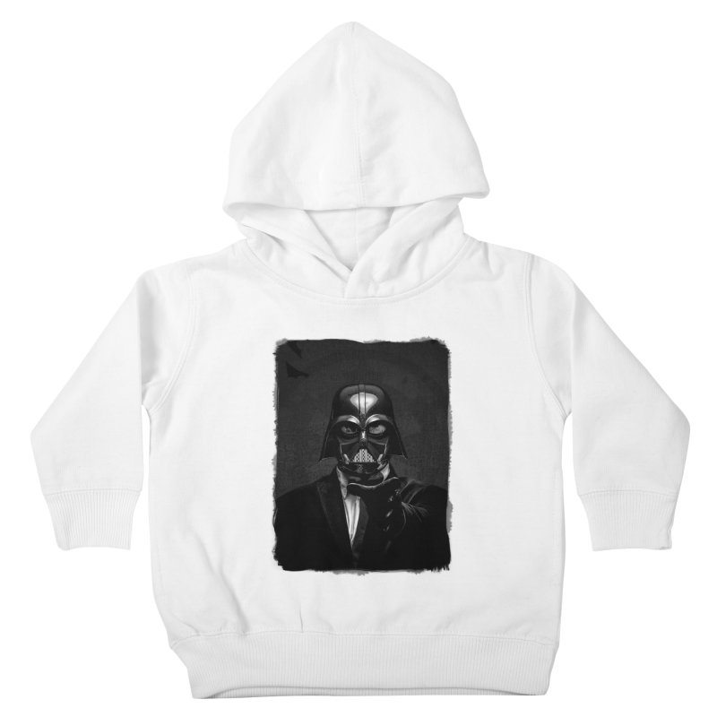 the power of the dark side Kids Toddler Pullover Hoody by the twisted world of godriguezart