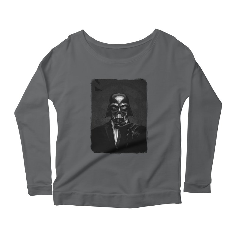 the power of the dark side Women's Longsleeve T-Shirt by the twisted world of godriguezart