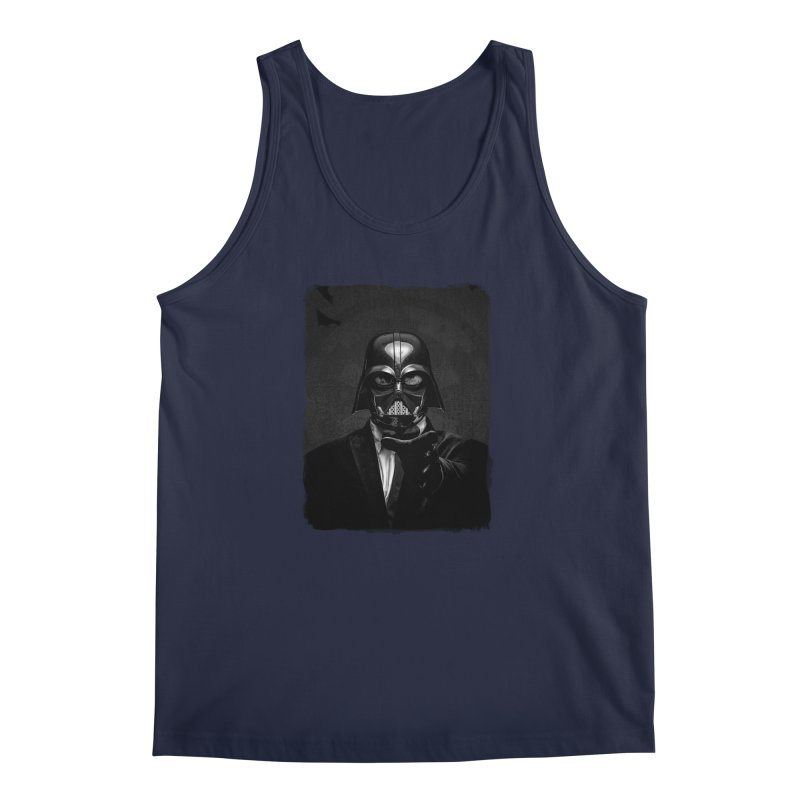 the power of the dark side Men's Regular Tank by the twisted world of godriguezart