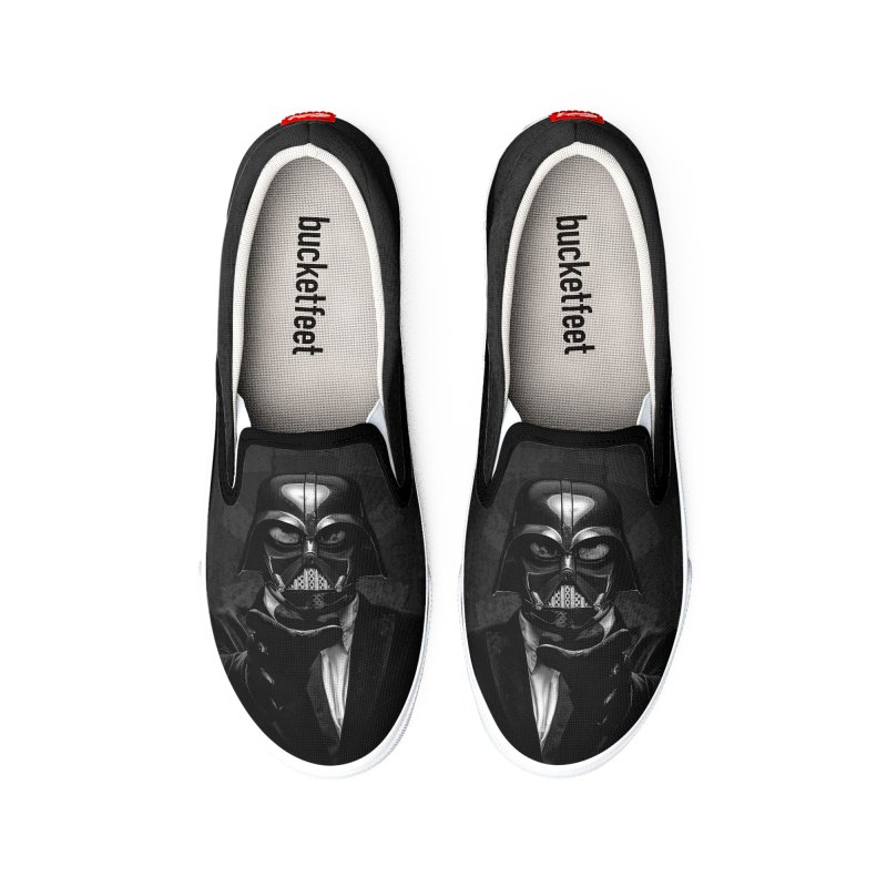 the power of the dark side Men's Shoes by the twisted world of godriguezart