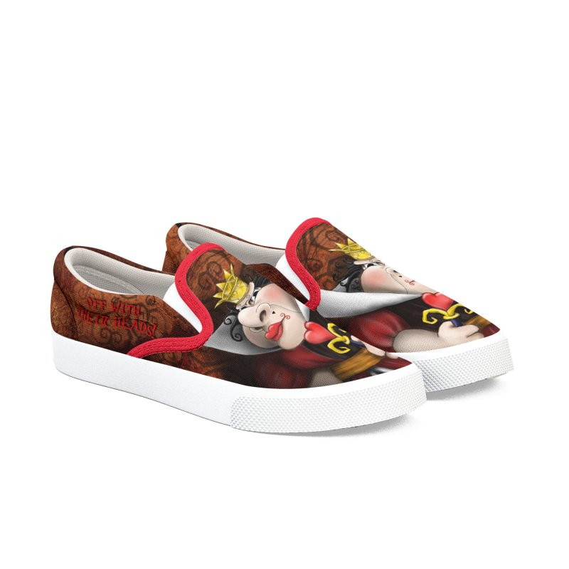 off with their heads! Women's Slip-On Shoes by the twisted world of godriguezart